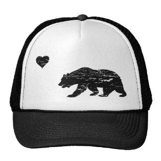 Vintage Black California Love Trucker Hat