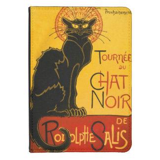 Vintage Black Cat Art Nouveau Chat Noir Steinlen Kindle 4 Cover