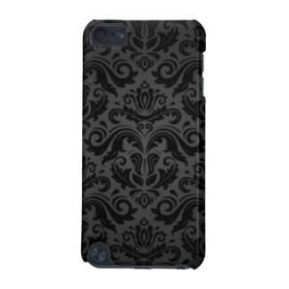 Vintage Black Damask Pattern Print Design iPod Touch (5th Generation) Cover