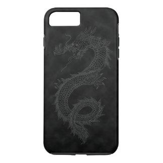 Vintage Black Smoke Dragon iPhone 7 Plus Case