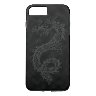 Vintage Black Smoke Dragon iPhone 8 Plus/7 Plus Case