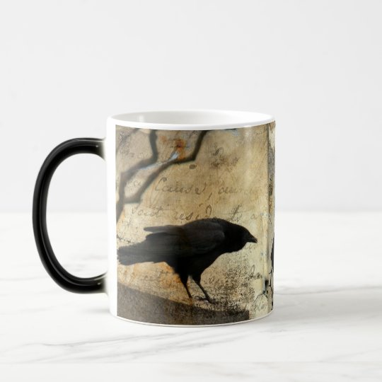 Vintage Blackbird Magic Mug