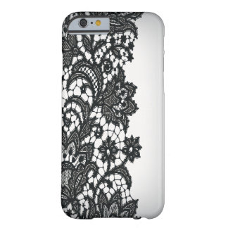 Vintage blackLace white Paris fashion iPhone5case Barely There iPhone 6 Case