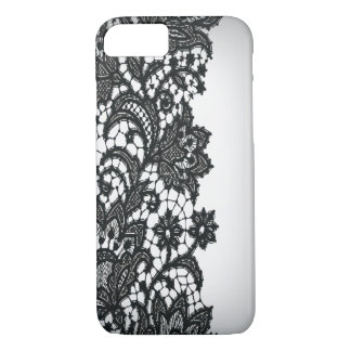 Vintage blackLace white Paris fashion iPhone5case iPhone 7 Case