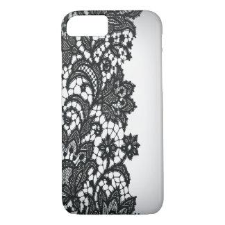 Vintage blackLace white Paris fashion iPhone5case iPhone 7 Case