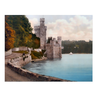 Vintage Blackrock Castle Ireland Postcard