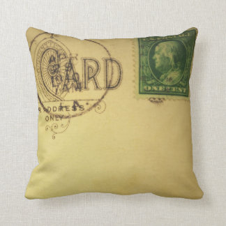 Vintage Blank Postcard  -Pillows Cushion