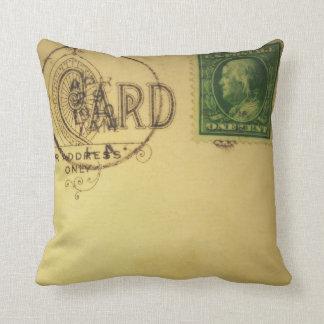 Vintage Blank Postcard  -Pillows Cushion