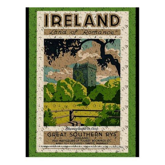 Vintage Blarney Castle Postcard