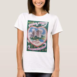 Vintage Blarney Castle St Patrick's Greeting Card T-Shirt
