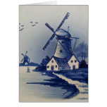 Vintage Blue and White Delft