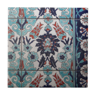 Vintage Blue and White Ottoman tile design