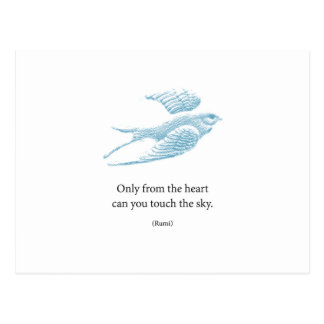 Vintage Blue Bird Postcard