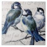 Vintage Blue Birds Collage - Customised Bluebirds