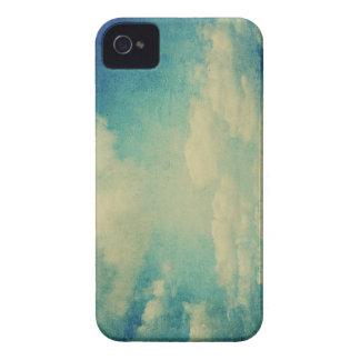 vintage blue cloud iPhone 4 Case-Mate cases