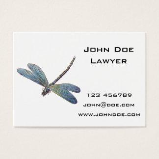 Vintage Blue Dragonfly