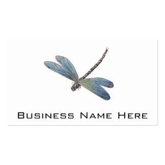 Vintage Blue Dragonfly Business Cards