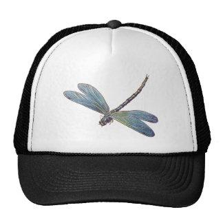 Vintage Blue Dragonfly Cap
