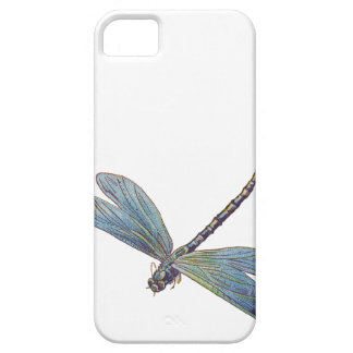 Vintage Blue Dragonfly iPhone 5 Case