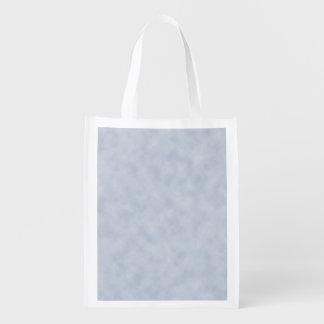 Vintage Blue Gray Parchment Look Texture Market Totes