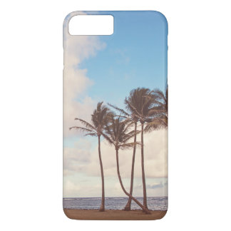Vintage Blue Hawaii Palm Tree Phone Case