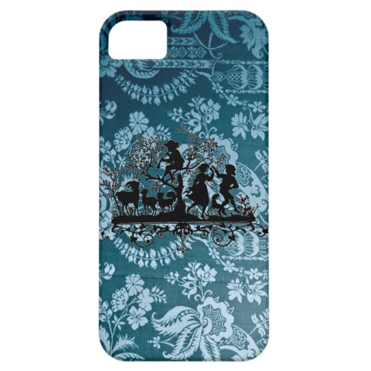 Vintage Blue Iphone 5 Case