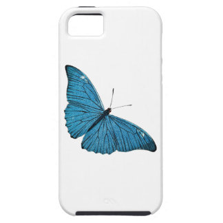 Vintage Blue Morpho Butterfly Customized Template Tough iPhone 5 Case