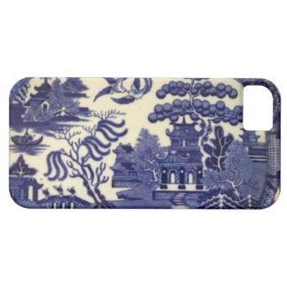 Vintage Blue Willow China Plate Wrap iPhone 5 Covers