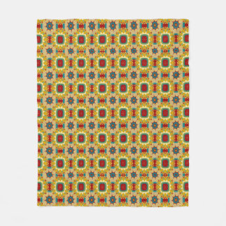 Vintage Board Game Inspired Fleece Blanket