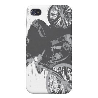 Vintage Board Track Motorcycle Racer#3 Case For iPhone 4