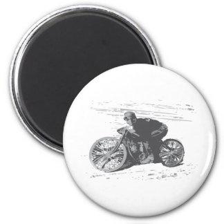 Vintage Board Track Motorcycle Racer#3 Fridge Magnets