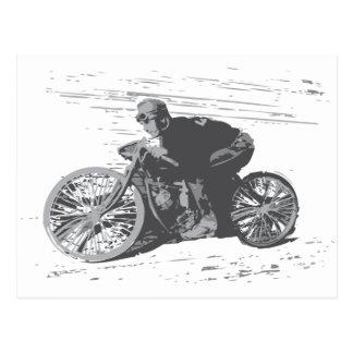 Vintage Board Track Motorcycle Racer#3 Post Cards