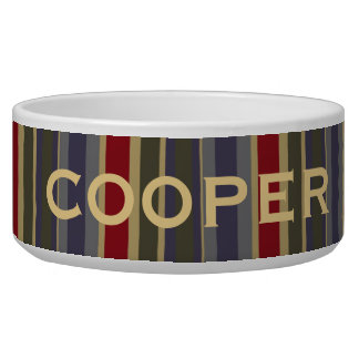 Vintage Boathouse Stripe Personalized