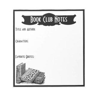 Vintage Book Club Notes