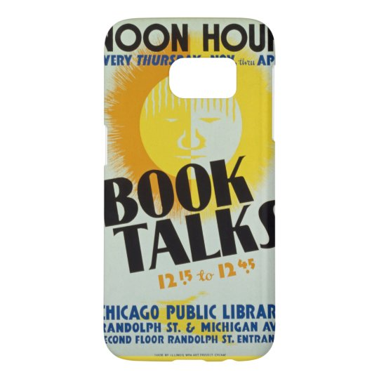 "Vintage ""Book Talks"" Phone Case"