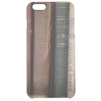 Vintage Books All In A Row Clear iPhone 6 Plus Case