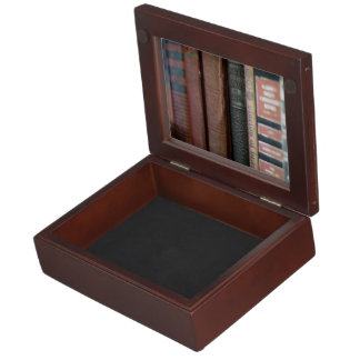 Vintage Books All In A Row Memory Box