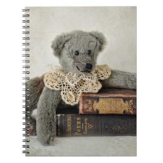 Vintage Books and  Bear Notebook