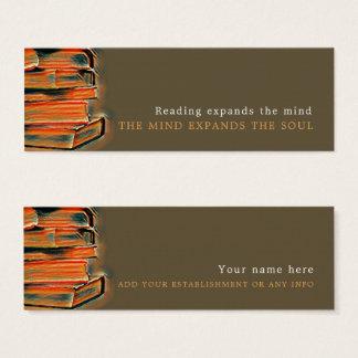 Vintage Books, Bookmark Mini Business Card