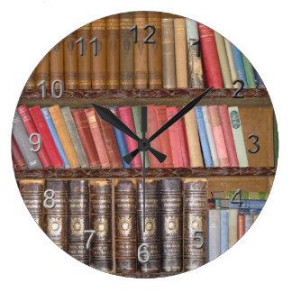 Vintage Books Large Clock