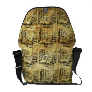Vintage Books Messenger Bags