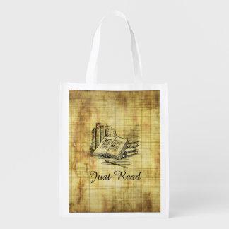 Vintage Books Reusable Grocery Bag