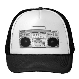 vintage boombox cap