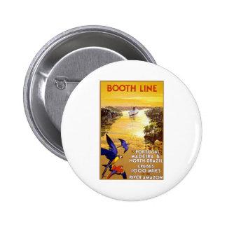 Vintage Booth Line Amazon Pinback Button