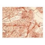 Vintage Boston Map Postcards