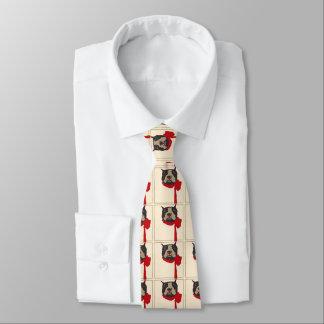 Vintage Boston Terrier, Tie