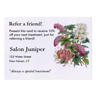 Vintage Botanical Illustrations Business Card Template