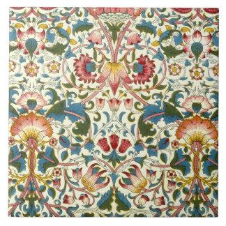 Vintage Botanical Morris Design Ceramics Tile