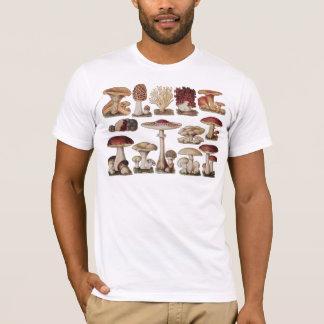 Vintage Botanical Mushrooms T-Shirt