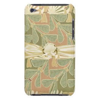 vintage botanical pattern iPod touch case